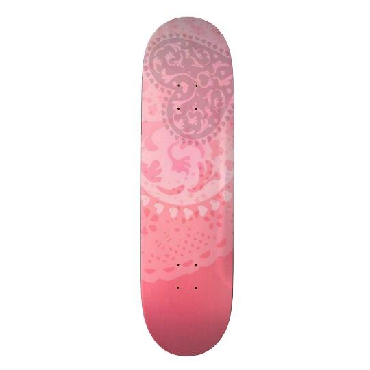 Skateboard Customisable Panneau fait sur commande de parc de coeur
