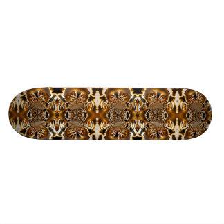 Skateboard Customisable Réveil de la planche à roulettes de fractale du