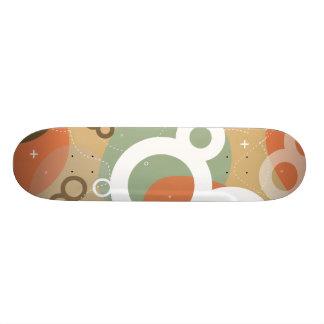 Skateboard Gogo - rétro planche à roulettes abstraite urbaine