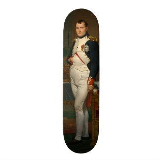 Skateboard Le napoléon d'empereur dans son étude chez le