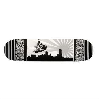 Skateboard Le patineur urbain