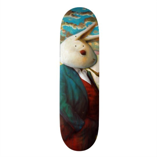 Skateboard Le Roi blanc Custom Pro Slider Board de rue de