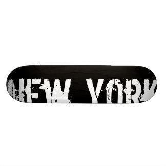 Skateboard New York - style urbain - planche à roulettes
