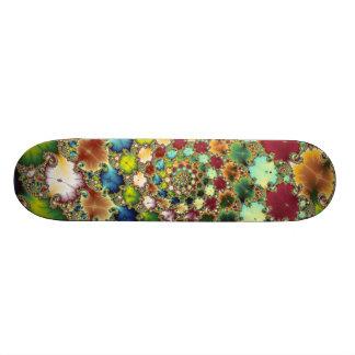 Skateboard Old School 18,1 Cm Cellules de fractale - planche à roulettes de