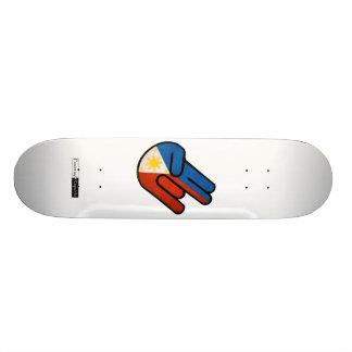 """Skateboard Old School 18,1 Cm Fumier insigne de Pinoy """"de style de JDM"""""""