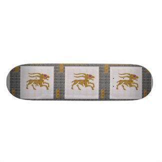 Skateboard Old School 18,1 Cm Graphique NAVIN JOSHI de ZODIAQUE de CHASSE à