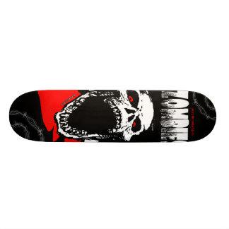Skateboard Old School 18,1 Cm Planche à roulettes de crâne de zombi