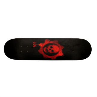 Skateboard Old School 18,1 Cm Planche à roulettes effrayante de crâne