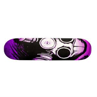 Skateboard Old School 18,1 Cm Toxique du BioHazard GASMASK
