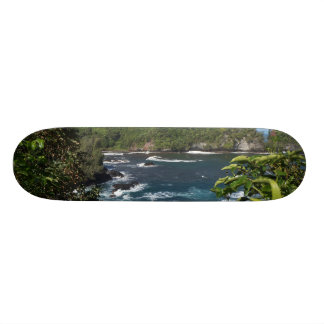 Skateboard Old School 21,6 Cm Belle Hawaï