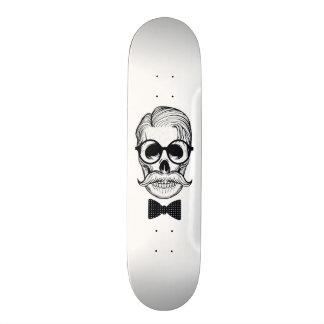 Skateboard Old School 21,6 Cm Conception de crâne de forme