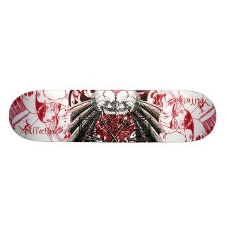 Skateboard Old School 21,6 Cm Crânes de baiser d'affection