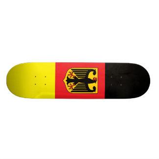 Skateboard Old School 21,6 Cm Planche à roulettes allemande de drapeau