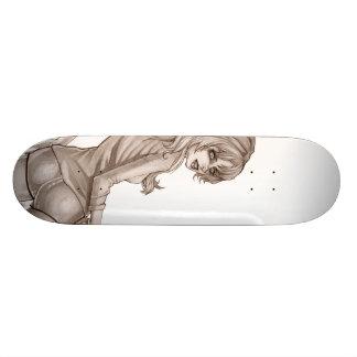 Skateboard Old School 21,6 Cm Secousse loin la tristesse