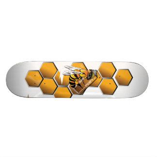 Skateboard panneau réfléchi de patin d'abeille