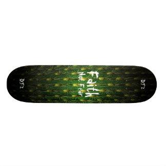 Skateboard Planche à roulettes de cactus de foi