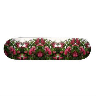 Skateboard Planche à roulettes d'esprit de fleur de fractale