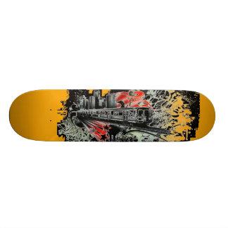 Skateboard Planche à roulettes urbaine de pas