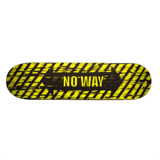 Skateboard Urbain - aucune planche à roulettes de manière