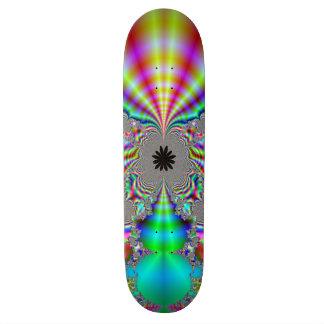 Skateboards Customisés Conception métallique de fractale de regard