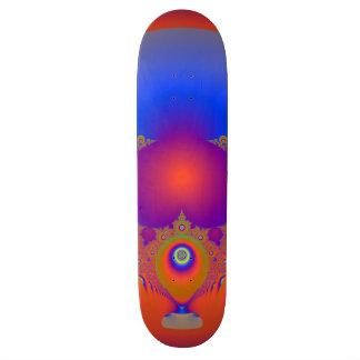 Skateboards Customisés Conception spectaculaire de fractale