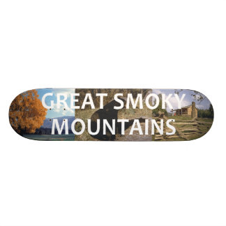 Skateboards Customisés Montagnes fumeuses d'ABH