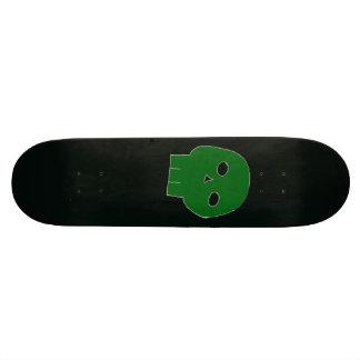 Skateboards Cutomisables Planche à roulettes empoisonnée de crâne