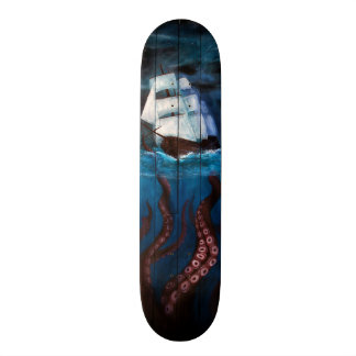 Skateboards Cutomisables Planche à roulettes orageuse de nuit