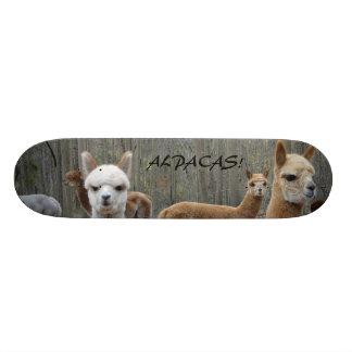 Skateboards Personnalisables Alpaga ! Planche à roulettes