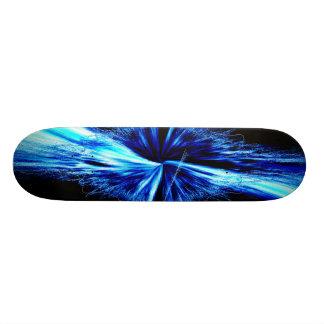 Skateboards Personnalisables Fractale abstraite de Digitals d'éclaboussure