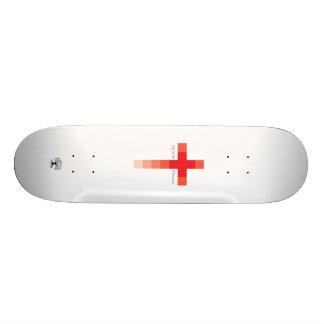 Skateboards Personnalisés Croix-Rouge