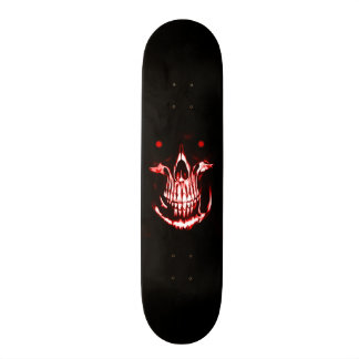Skateboards Personnalisés Démon Reaper de crâne de Skully
