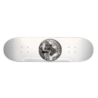 Skateboards Personnalisés Judo d'Idyllwild et planche à roulettes de logo de