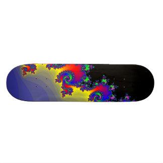 Skateboards Personnalisés Le bord de la fractale : Planche à roulettes faite