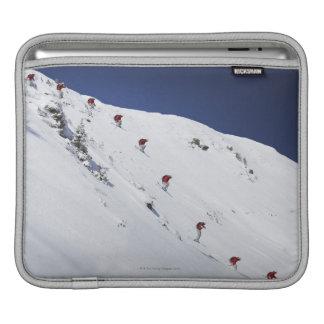 Skieur masculin poche iPad