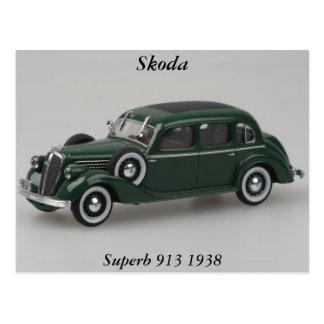 Skoda 913 superbes 1938 cartes postales