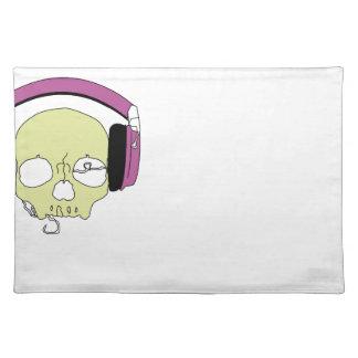 Skull music onderlegger