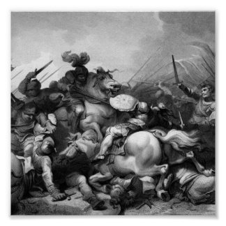 Slag van Bosworth Poster