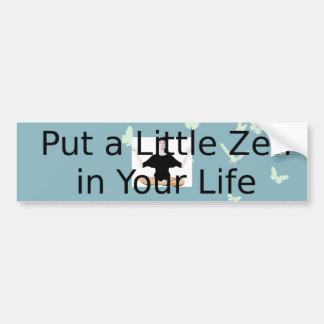 Slogan SUPÉRIEUR de zen Autocollant De Voiture