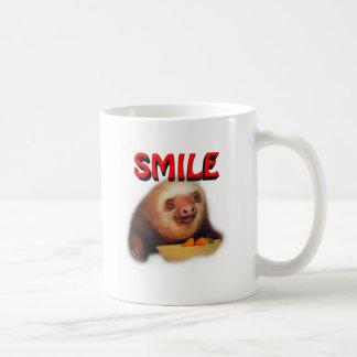 slothie de sourire mug