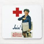 Sluit me aan bij het Amerikaanse Rode Kruis Muismat