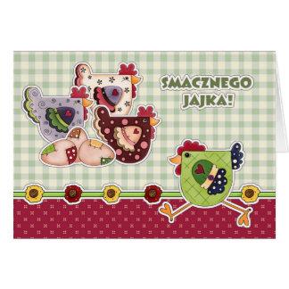 Smacznego Jajka. Cartes de Pâques polonaises
