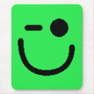 Smiley assortis colorés (voir la description) tapis de souris