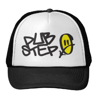 Smiley de Dubstep Casquette