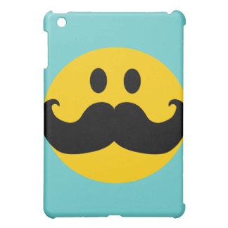 Smiley de moustache (couleur personnalisable coques pour iPad mini