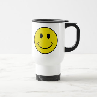 Smiley effronté mug de voyage