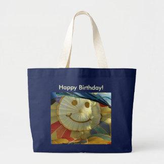 Smiley, joyeux anniversaire ! grand sac