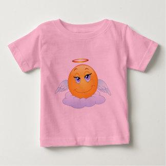 Smiley saint sur le nuage t-shirt pour bébé
