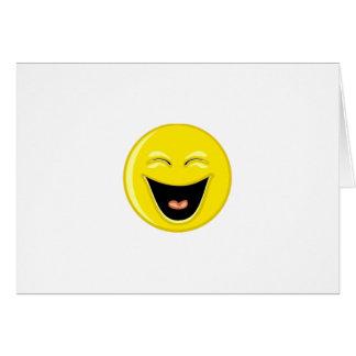 Smiley superbe carte de vœux