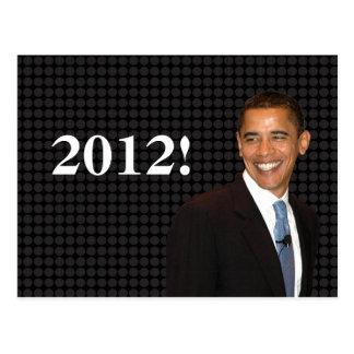 Smilin Barack Obama Carte Postale